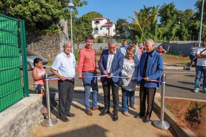 Inauguration de la Résidence Lebihan à Bras-Canot