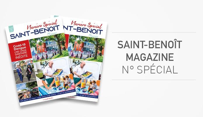 Saint-Benoît Magazine : téléchargez le numéro spécial Covid-19/dengue !