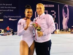 Coupe du monde à Doha : Marine Boyer médaillée de bronze à la poutre