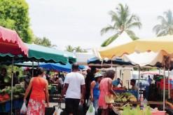 Le marché forain de Saint-Benoît suspendu jusqu'à nouvel ordre