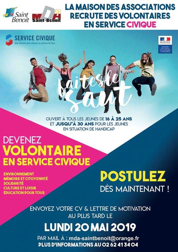Service civique : la MDA recrute des volontaires