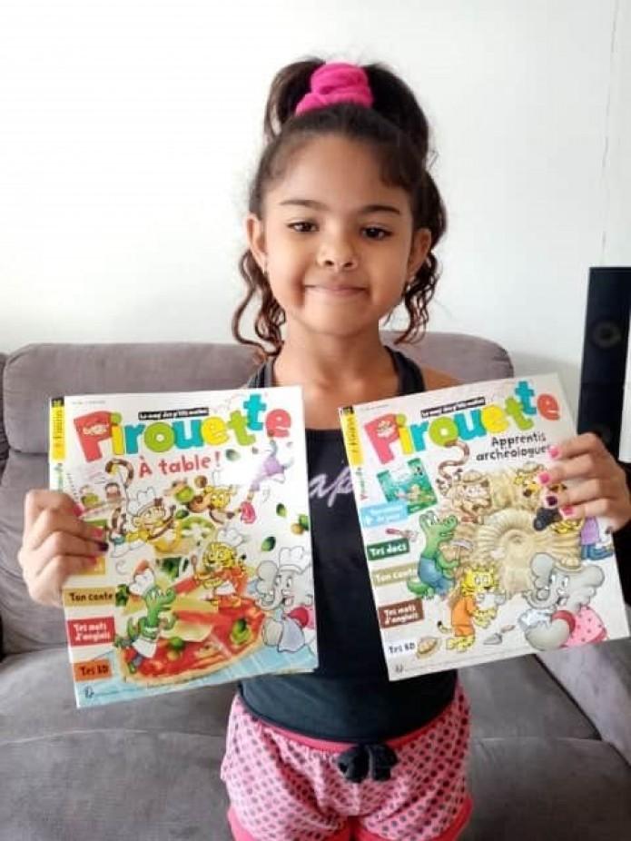 Coup de pouce clé : les enfants reçoivent des livres en cadeau dans leur boîte aux lettres