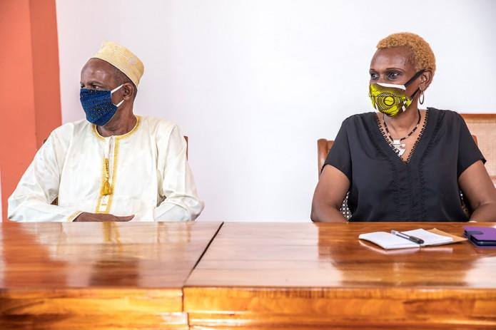 Solidarité régionale : la maire reçoit la délégation de Mayotte