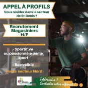 Magasinier - Mission Locale Nord